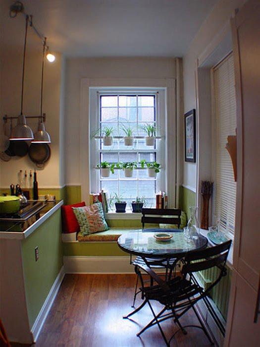 Grandes ideas para espacios peque os tr s studio blog for Cocinas en espacios chicos