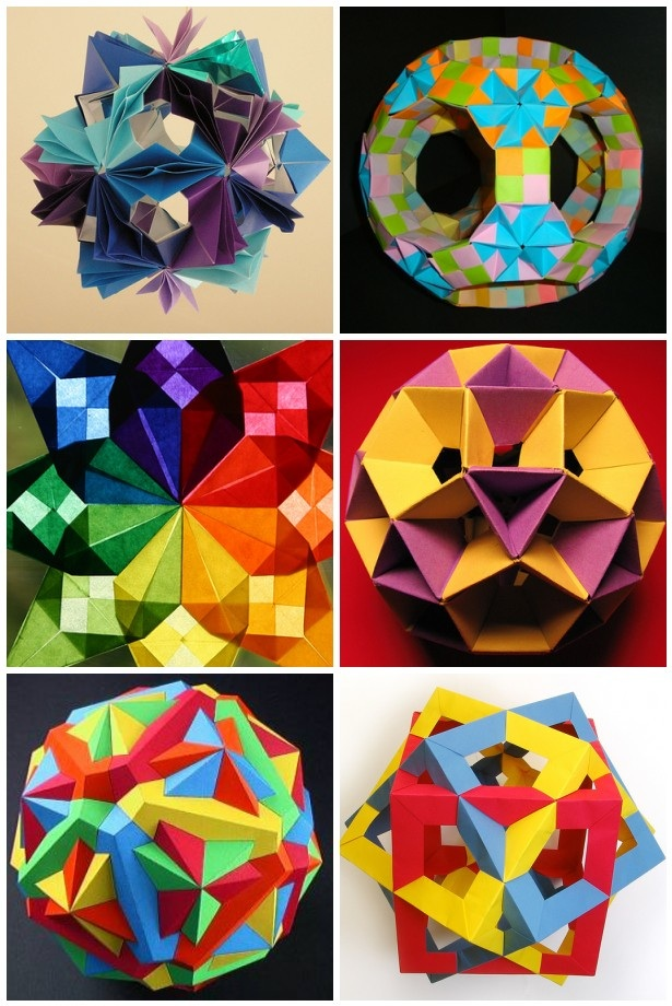 Easy origami shapes! | Origami shapes, Origami for beginners, Origami easy | 920x615