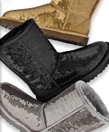 Savvy Mode: Sparkle UGG Short Boots
