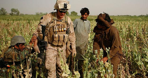 Resultado de imagen de cia y opio en afganistan