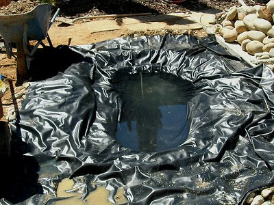 Pond supplies pond liner water garden supplies what for Koi pond liner calculator