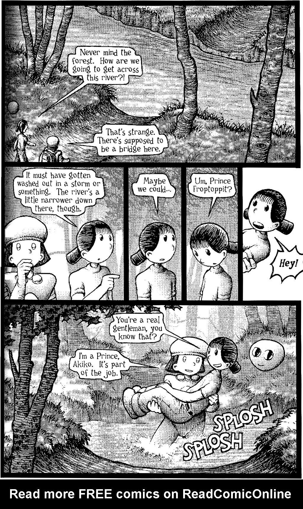 Read online Akiko comic -  Issue #Akiko _TPB 5 - 22