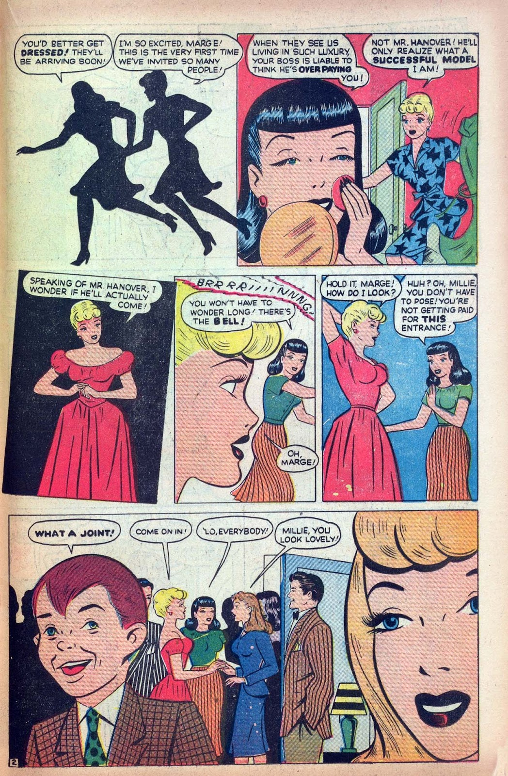 Read online Millie the Model comic -  Issue #13 - 33