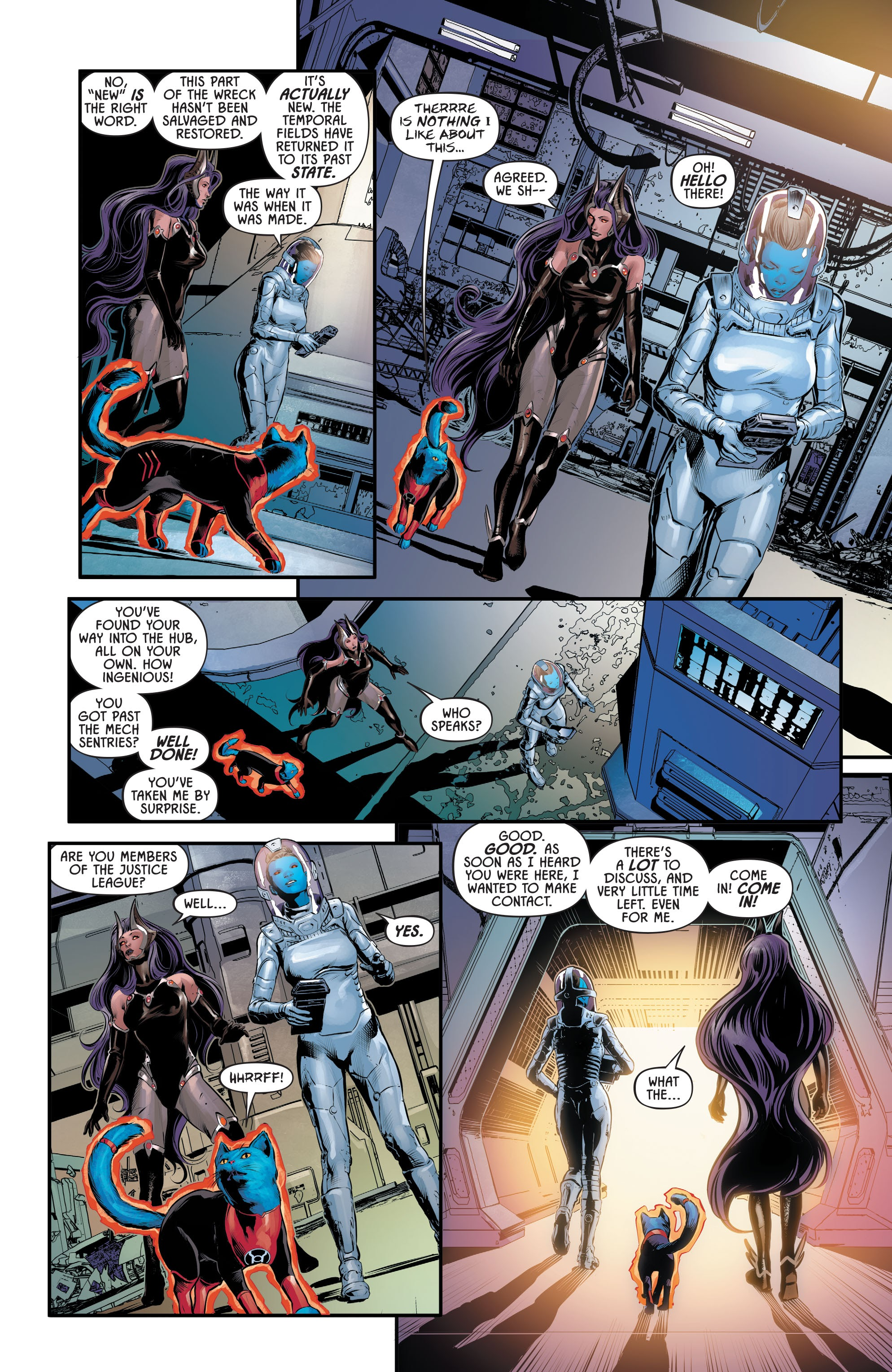 Justice League Odyssey #17 #17 - English 21