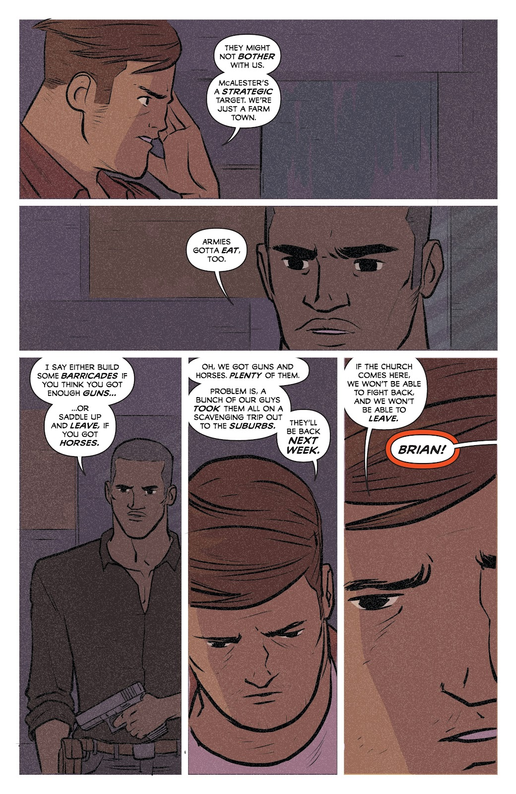 Read online Relay comic -  Issue #5 - 24