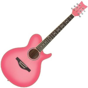 This Pink Acoustic Guitar Is Perfect For The Younger Girl Under 12 However Plenty Of Older Girls Do Buy And Are Very Happy With It