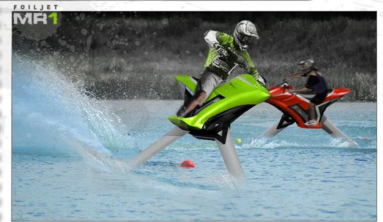 Foiljet Mr1 Hydrofoil The Motocross Bike For Water