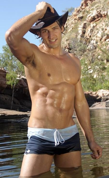 Australian gay model