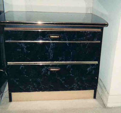 And Heres The Rant Black Lacquer With Your Faux Marble