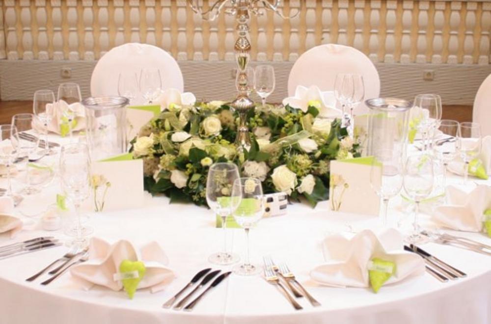 Kuschels Hochzeitstraum Tischdeko