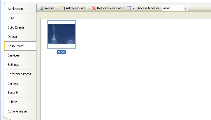 WPF - Images from Project Resource - Muhammad Shujaat Siddiqi