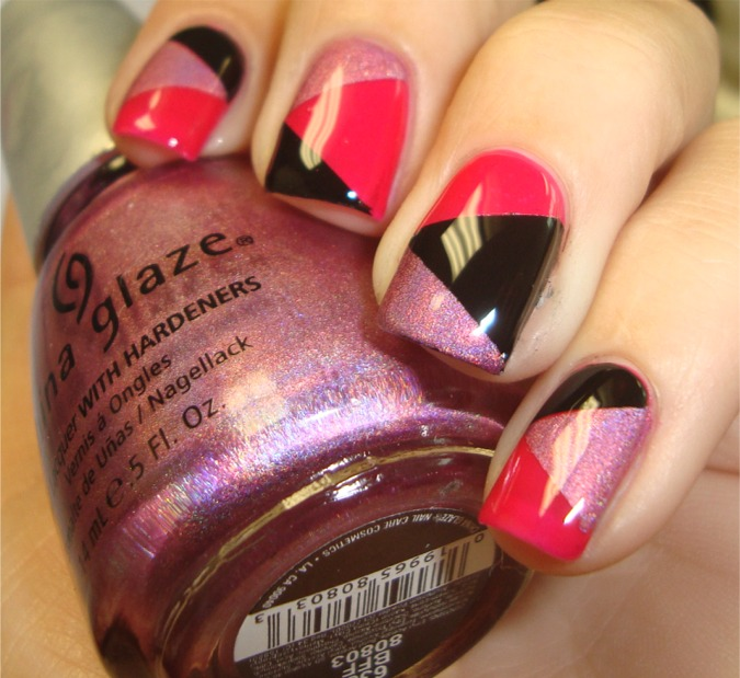 TheNailGeek: Scotch Tape Nail Art! Easy And Exciting
