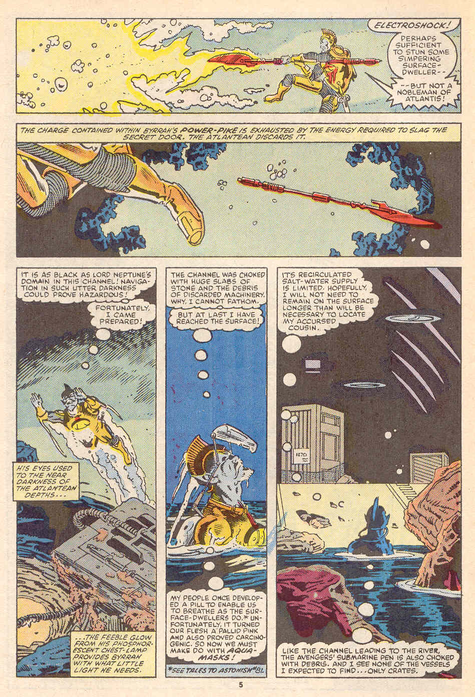 Read online Alpha Flight (1983) comic -  Issue #36 - 6