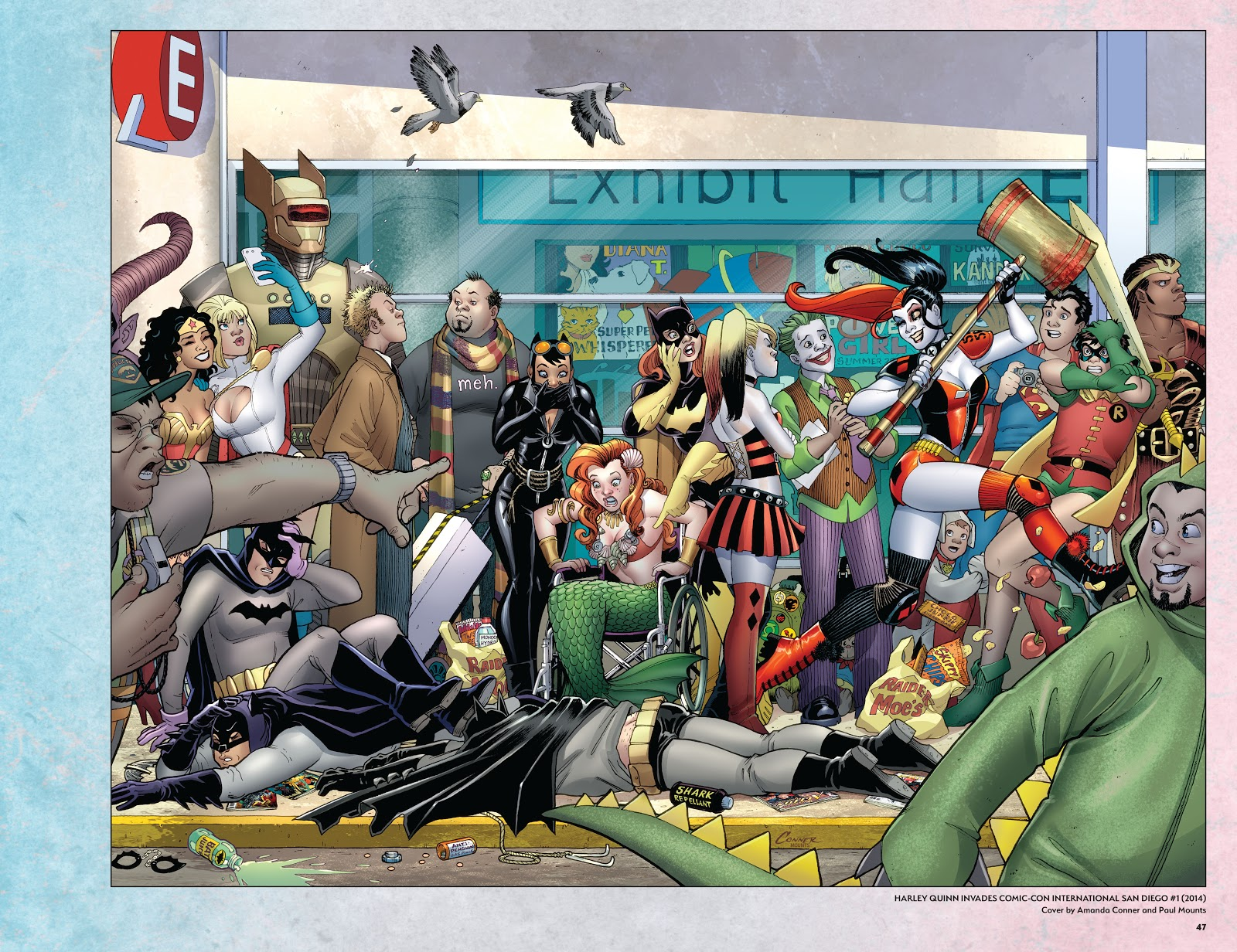 Read online Harley Quinn: A Rogue's Gallery―The Deluxe Cover Art Collection comic -  Issue # TPB (Part 1) - 45