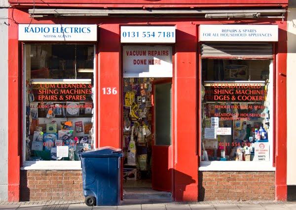 Edinburgh/Leith Daily Photo: More Shop Windows