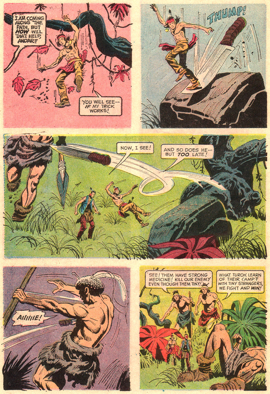 Read online Turok, Son of Stone comic -  Issue #67 - 30