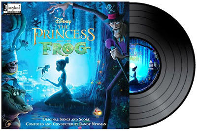 Princess the the Frog vinyl LP soundtrack