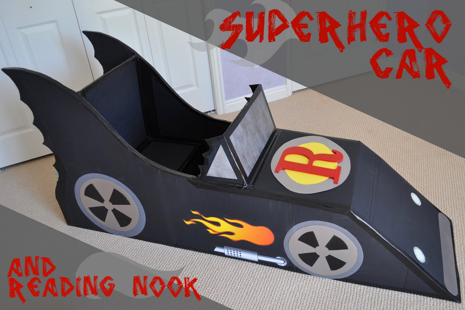 I Am Momma - Hear Me Roar: Superhero Car and Reading Nook