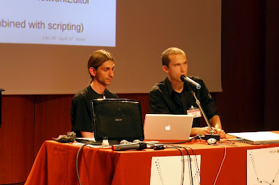 linux audio conference