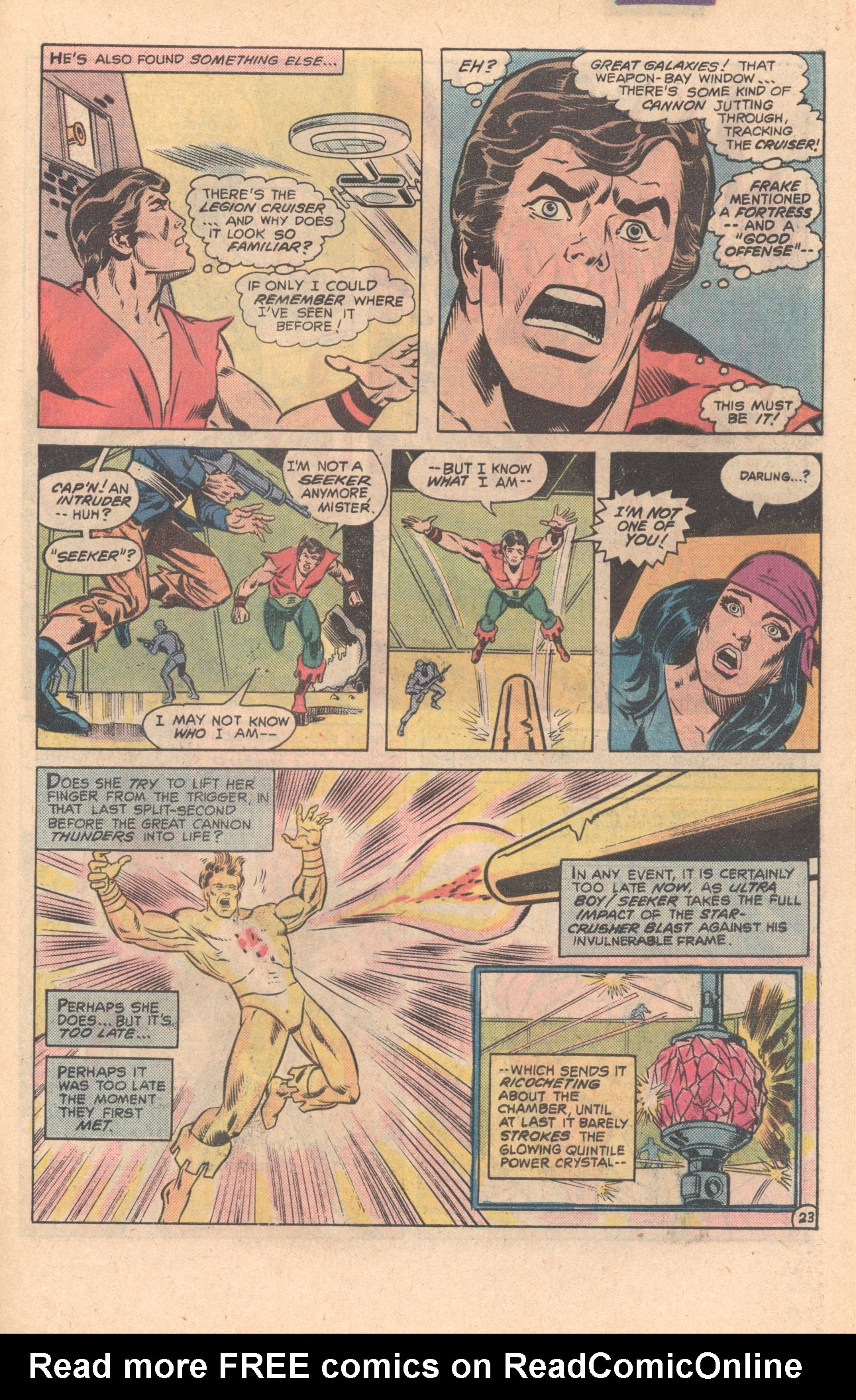 Legion of Super-Heroes (1980) 275 Page 23