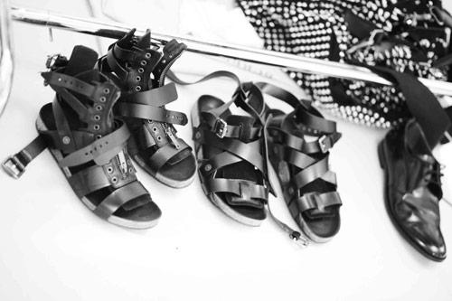 22cc322a525e20 The Shoe Edit  Burberry Prorsum s s 11 Men s Gladiator Sandals
