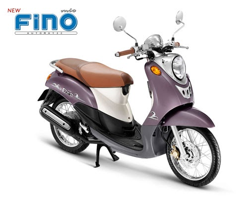 Motorcycle Ros: New Yamaha Fino 2009