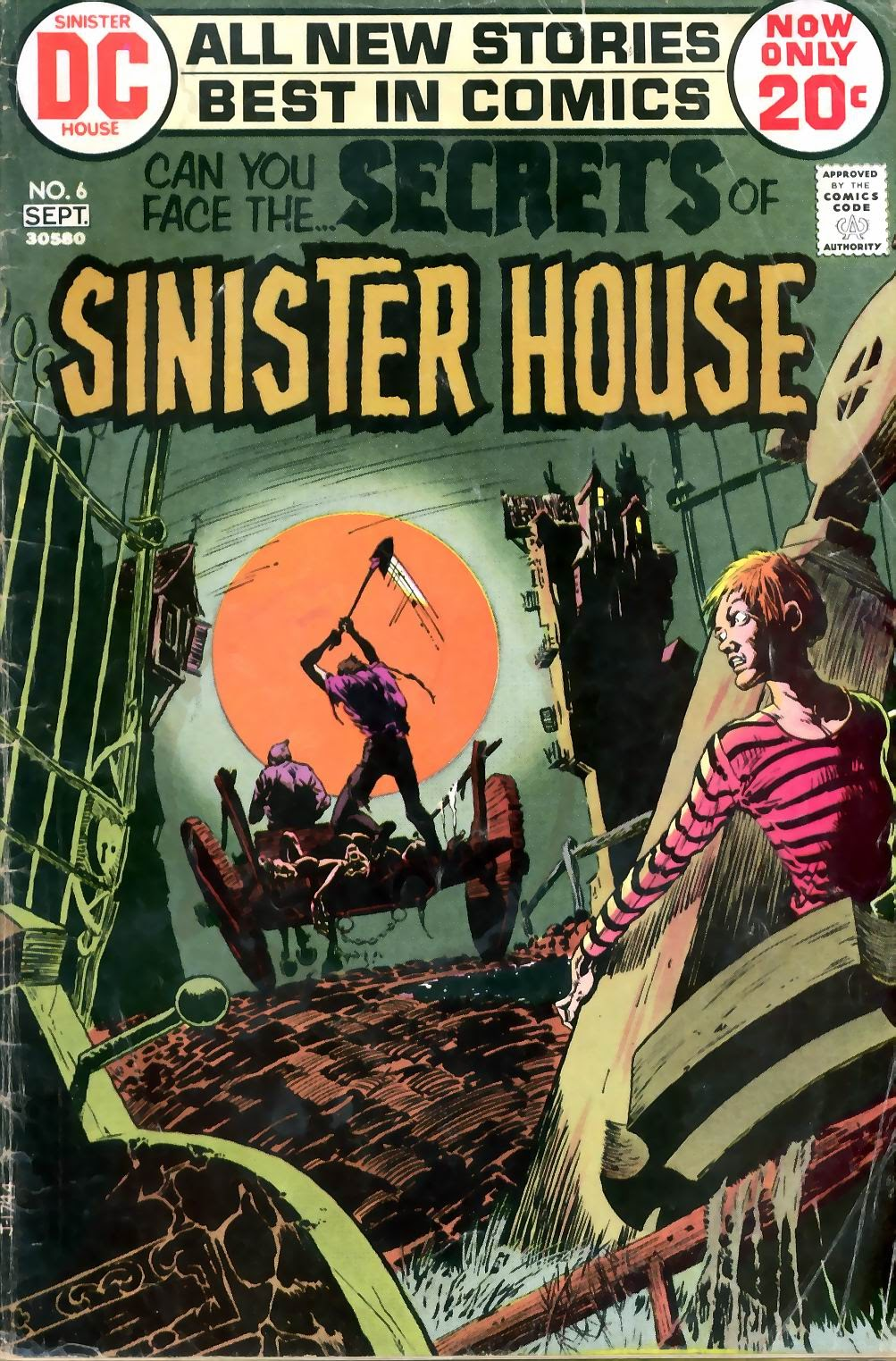 Secrets of Sinister House (1972) 6 Page 1