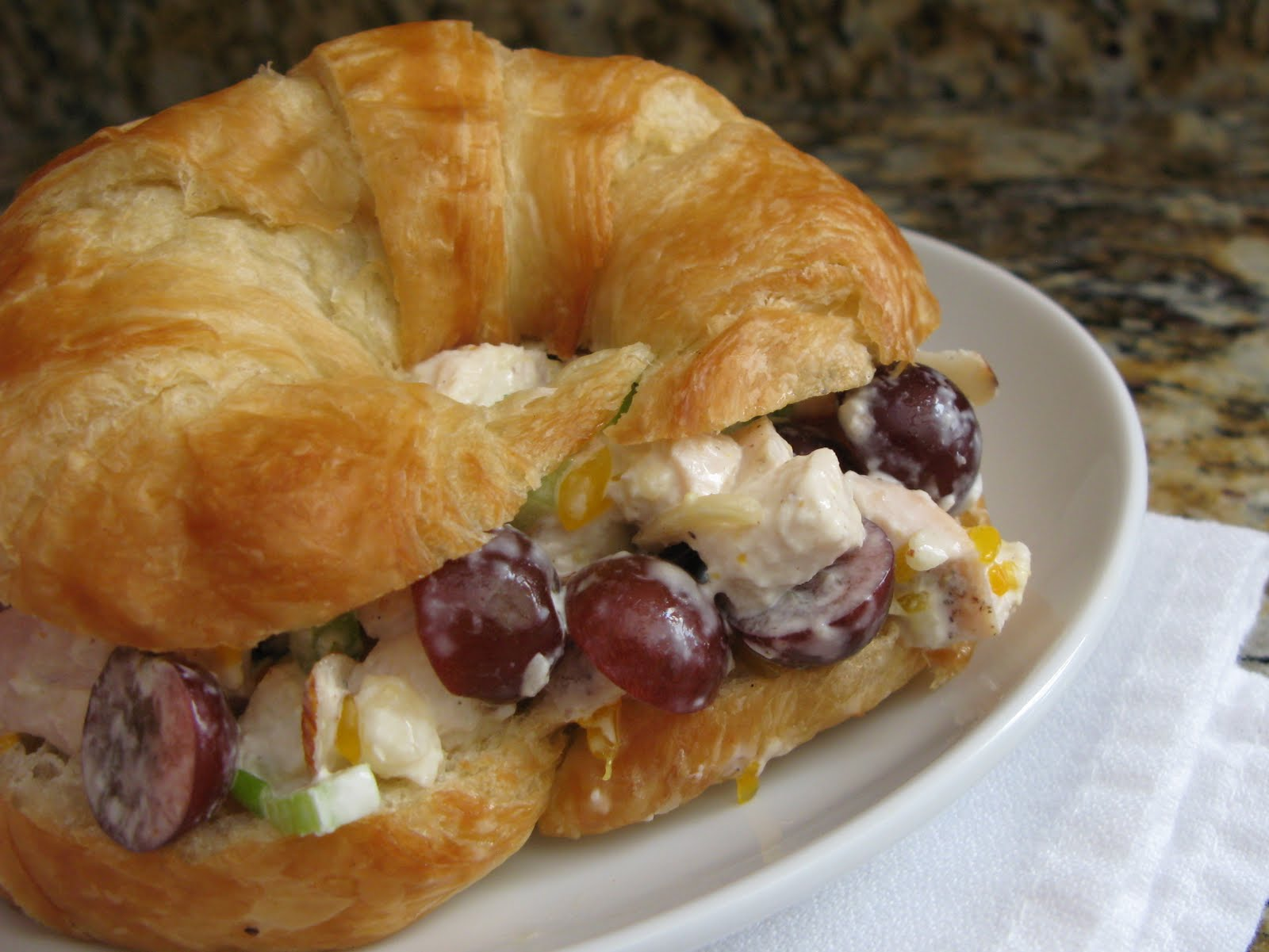 The Bake Off Flunkie Fruited Chicken Salad Sandwiches