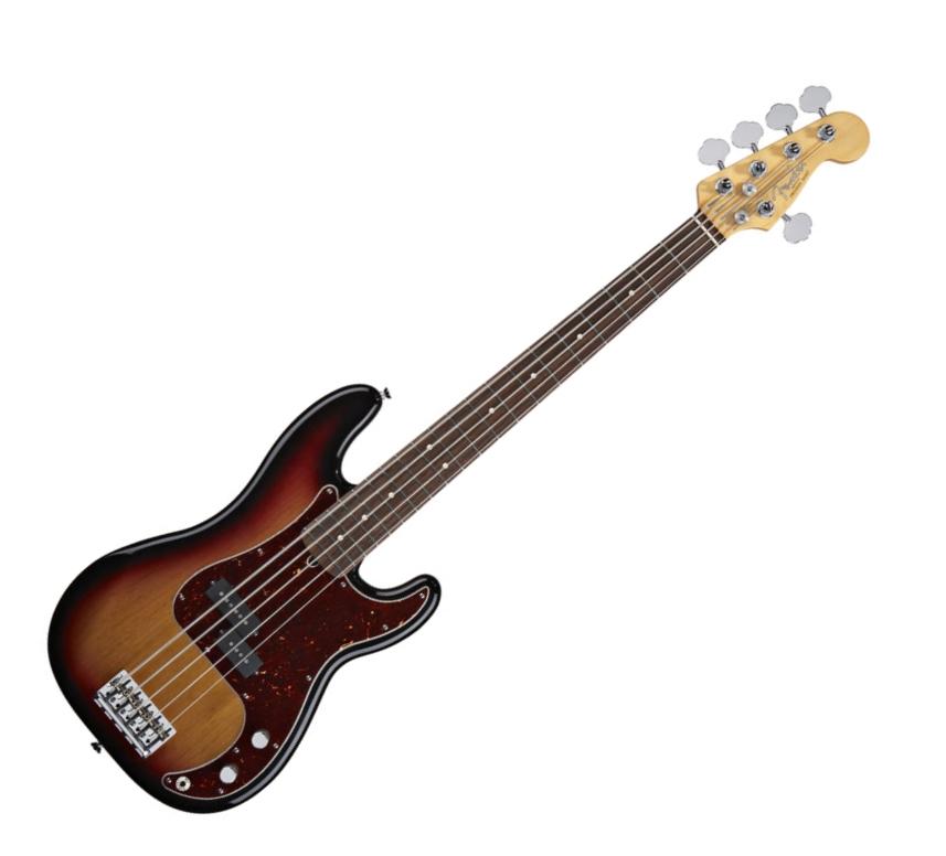 bass review for bassist fender american standard precision bass v 5 string bass. Black Bedroom Furniture Sets. Home Design Ideas
