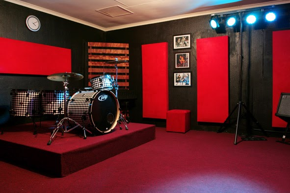 Red Room Recording Studio The Rehearsal Room