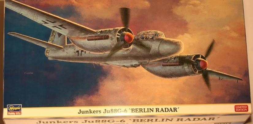 Junkers Berlin falkeeins the luftwaffe hasegawa 1 72 junkers ju 88 g 6 nachtjäger 39 berlin radar 39 boxing