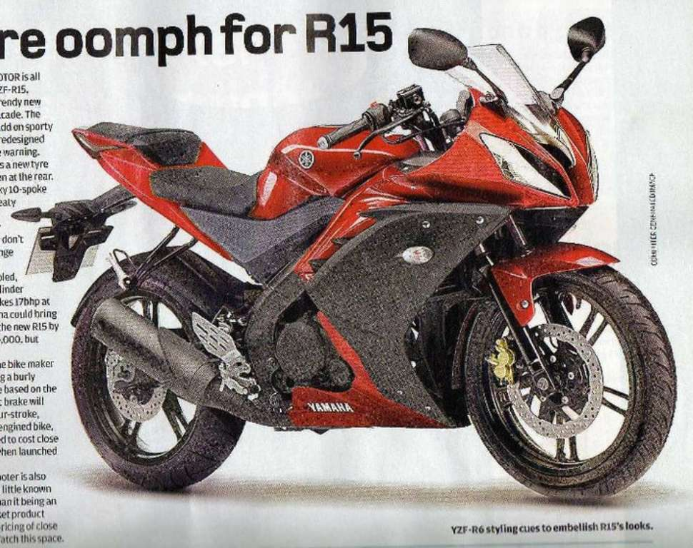 new yamaha r15 is mini r6 and is cheaper too. Black Bedroom Furniture Sets. Home Design Ideas