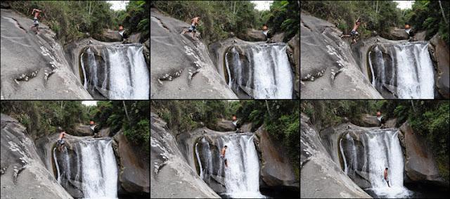 viajando sem frescura rio de janeiro rj sana macae região serrana cachoeiras camping mãe pulando sequencia