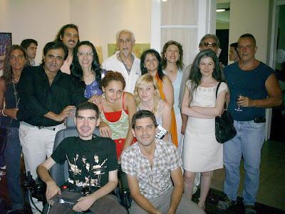 CON 19 ARTISTAS, LA FUNDACION CENTRO CERRO UN AÑO POR DEMAS PRODUCTIVO