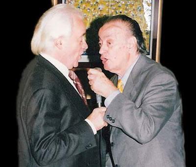 Roberto Mancini y Juan Carlos Godoy