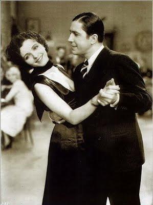 Carlos Gardel con Nona Maris en Cuesta abajo en 1934