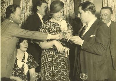 Carlos Gardel con Isabel de Valle en 1931
