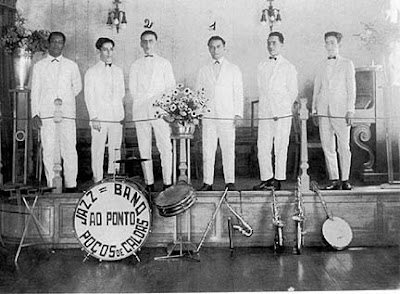 Ary Barroso (2) the jazz band pianist in Poços de Caldas-1926