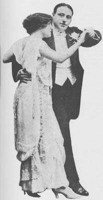 El Vasquito Casimiro Aín, con su pareja Edith Peggy en Francia en 1913