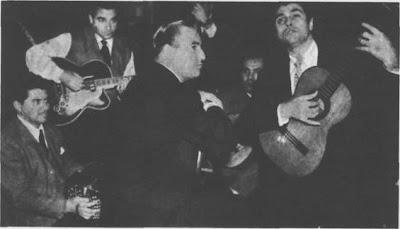 Oscar Larroca y Carlos Dante en 1959