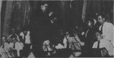 Orquesta Augusto Pedro Berto en Radio Prieto en 1936