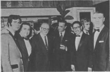 Abel Cordoba, De Lio, Salgan, Pugliese y Rivero en 1975