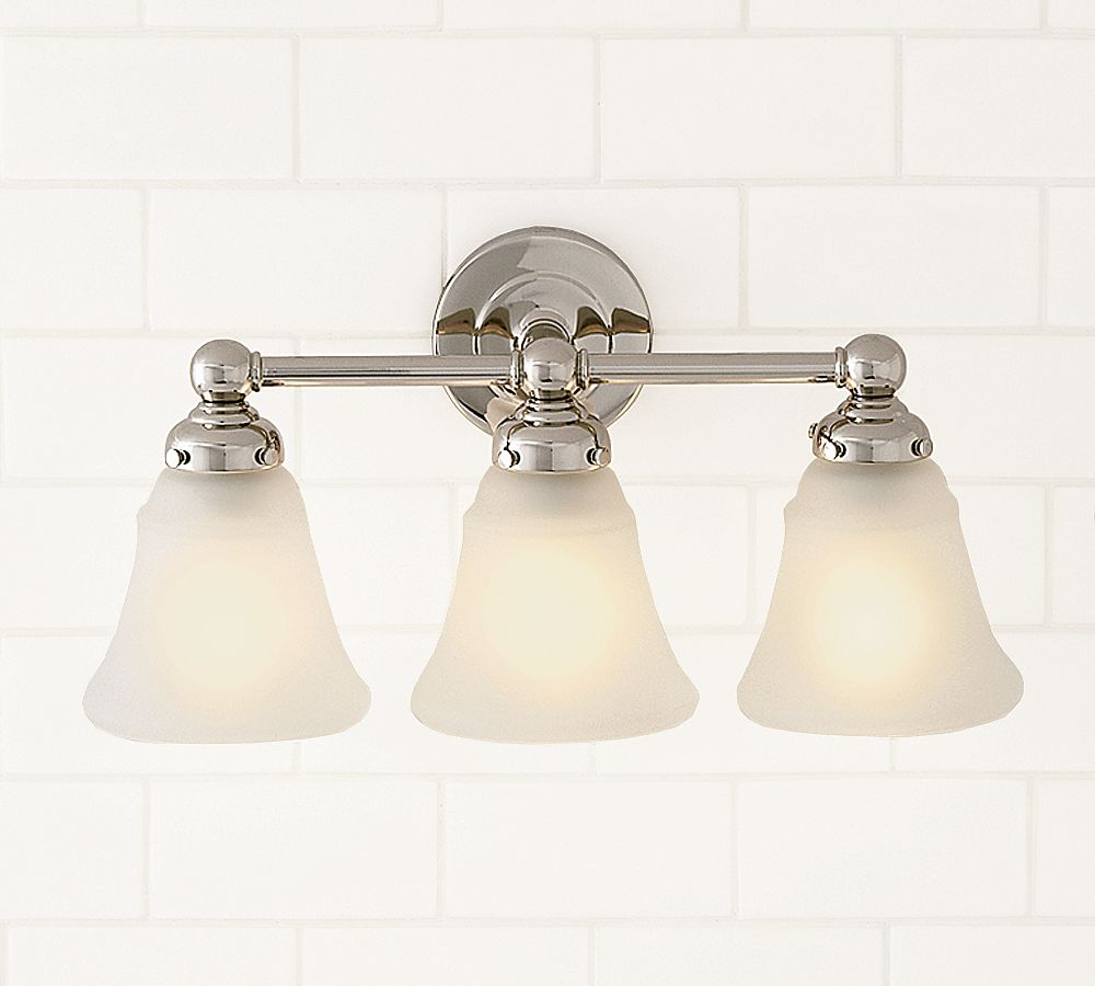 Pottery Barn Wall Lamps: Pottery Barn Sussex Triple Sconce