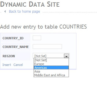 ASP.NET Dynamic Data and Oracle Joe Gill Dynamics 365 Consultant