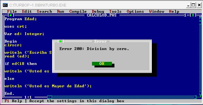 Runtime Error 200 – The Pascal Error « Wiki-errors com