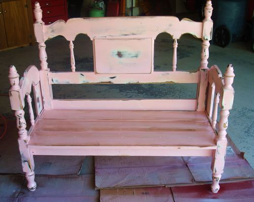 By Your Hands Trash To Treasure Bed Frame Benches