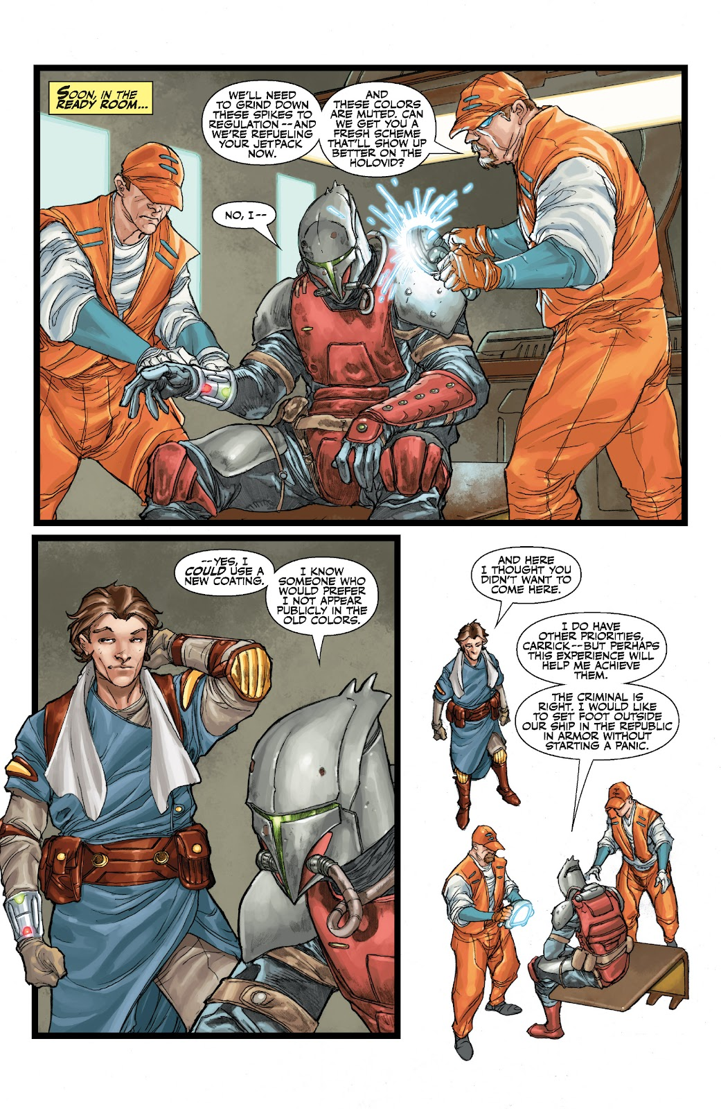 Read online Star Wars Legends: The Old Republic - Epic Collection comic -  Issue # TPB 3 (Part 1) - 50