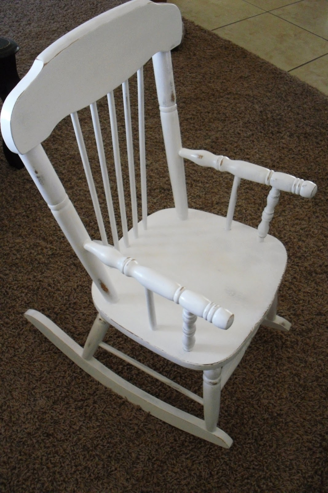 Homemade Home Adorable Rocking Chair