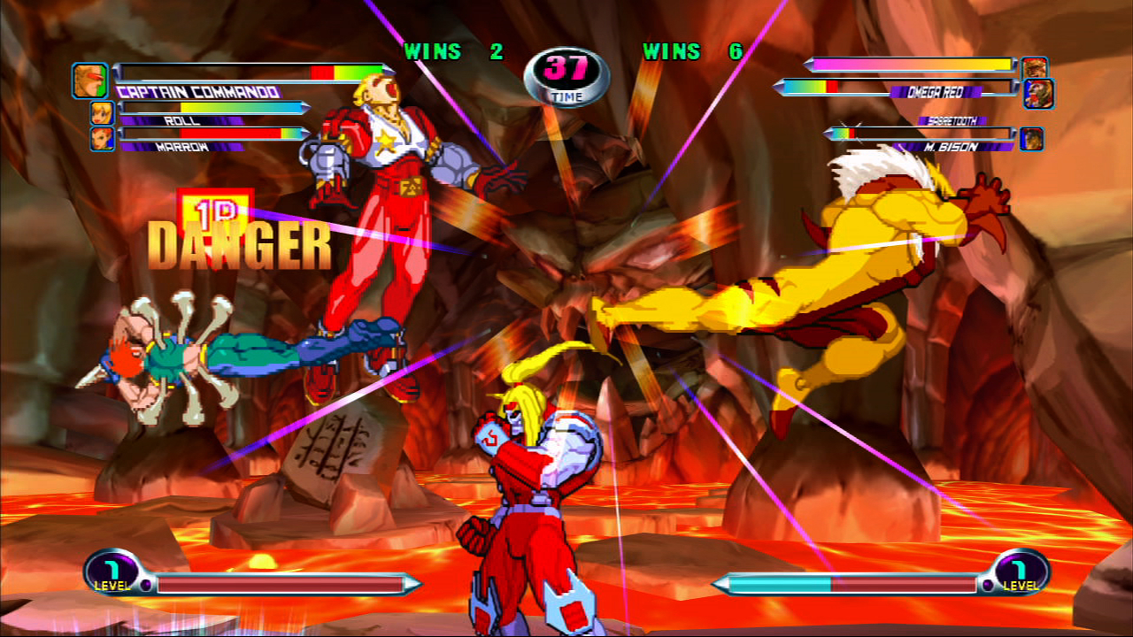 Independent Gamer Blog: Marvel vs Capcom 2 Review