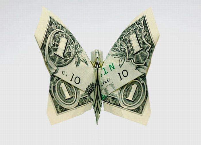 How To Make A Origami Heart Out Of A Dollar Bill